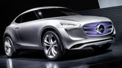 Mercedes-Benz G-Code concept revealed