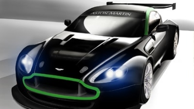 Aston Martin releases sketch of new Vantage GT2 racer