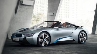 BMW i8 Spyder Ready To Become A Production Reality