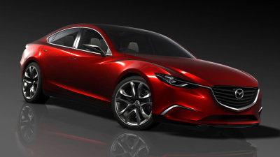 Takeri Concept Previews Next-gen Mazda6, Destined For Tokyo Motor Show