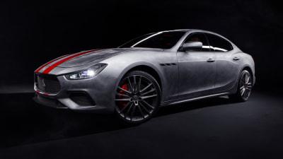 Maserati launches Fuoriserie personalisation program in Australia with race-inspired Ghibli Trofeo Corse sedan
