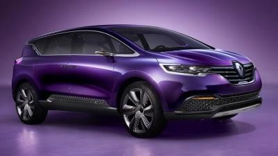 New Renault Espace Confirmed For Paris Motor Show
