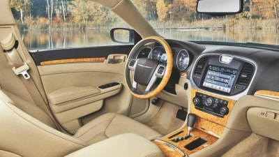2011 Chrysler 300C Interior Revealed