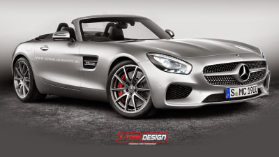 Rendered: AMG GT Goes Topless