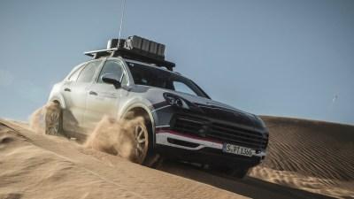 Crossing the Simpson Desert in a Porsche