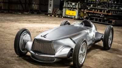 Infiniti Creates Retro-Inspired Prototype 9 Grand Prix Concept For Pebble Beach Concours