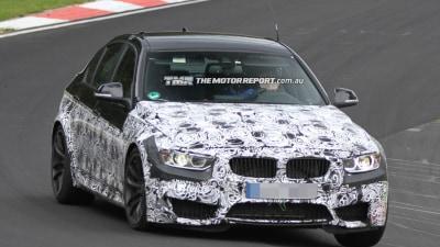 2013 BMW M3 Sedan Spied Ahead Of Rumoured Geneva Motor Show Debut