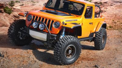 Jeep debuts seven wild concepts