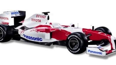Panasonic Toyota Reveals 2009 F1 Car
