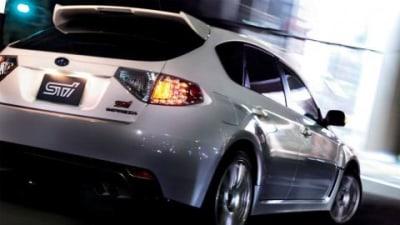 2009 Subaru WRX STI A-line Automatic On Sale In Japan