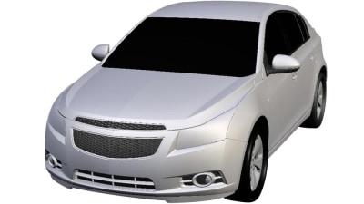 Holden Cruze Hatchback Renderings Surface Online
