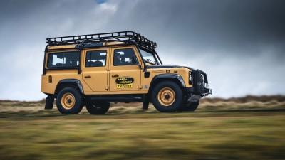 2021 Land Rover Defender Works V8 Trophy unveiled
