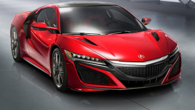 Honda NSX Delayed - Engine Specs Revealed