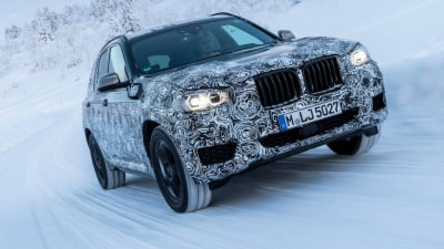 New BMW X3 Testing In The Polar Circle