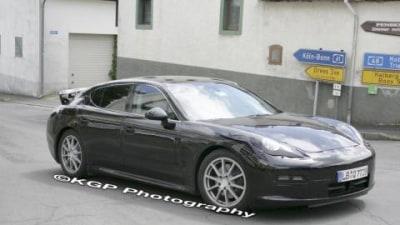 Porsche Panamera more spy photos
