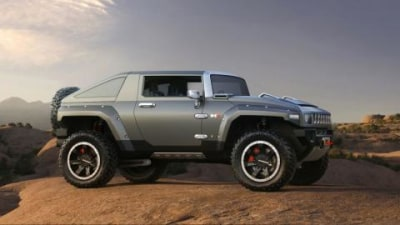 Hummer HX concept preview