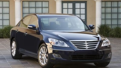 Hyundai Genesis crash test video