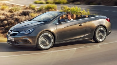 Opel Cascada Revealed In Europe