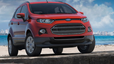Ford EcoSport SUV Unveiled Ahead Of 2013 Australian Debut