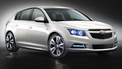 Holden Cruze Hatchback Revealed Ahead Of Paris