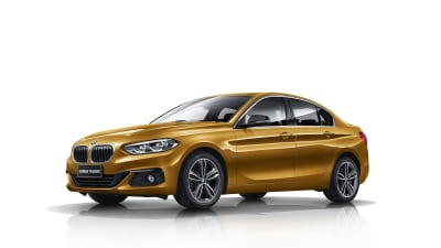 BMW Debuts All-New 1 Series Sedan For China