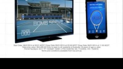 2014 Australian Open Tennis 'Game On' App A Win For Kia