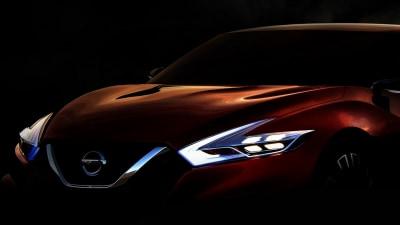 Nissan Teases Sports Sedan Concept Ahead Of Detroit Unveiling