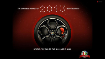 Alfa 4C Bound For 2013 Debut