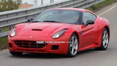 2015 Ferrari California Replacement Spied Testing