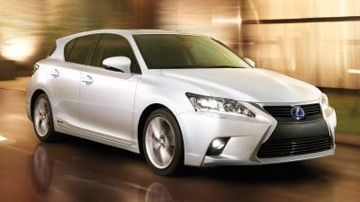 2014 Lexus CT 200h Revealed Ahead Of Australian Debut