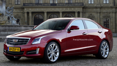 Cadillac's A3-fighting Small Sedan Rendered