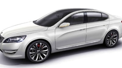 Kia VG (KND-5) Concept Leaked Ahead Of 2009 Seoul Motor Show