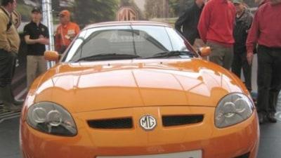 New MG TF headlines MG car club celebration
