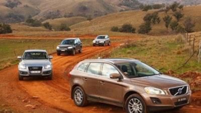 Mid-size luxury 4WDs: Audi Q5 v BMW X3 v Volvo XC60 v Land Rover Freelander2