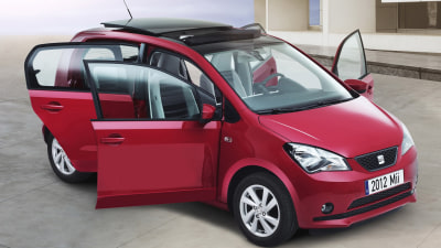 Seat Mii 5-door Rounds Out City Car Trio