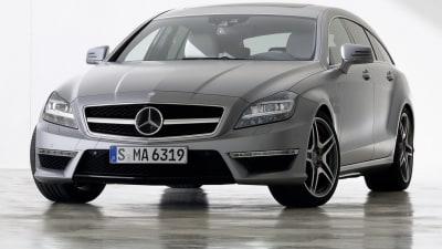 Mercedes-Benz CLS 63 AMG Shooting Brake Revealed