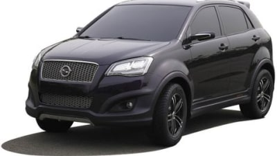 SsangYong C200 Aero And C200 Eco Unveiled At 2009 Seoul Motor Show