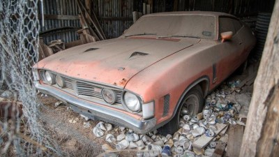 """Barn find! Ford Falcon XA GT RPO 83 """"Chicken Coupe"""" could sell at auction for $200,000"""