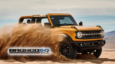 Ford Bronco breaks cover one more time before this week's unveiling