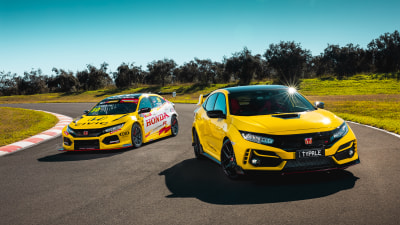 Honda releases limited-edition Civic Type R, paints TCR race car to celebrate