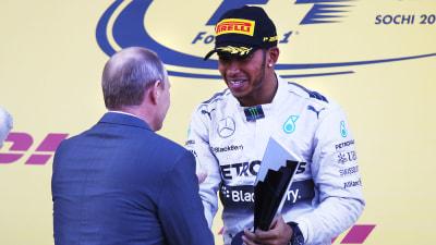 2014 Russian F1 GP: Easy Win For Hamilton Extends Championship Lead