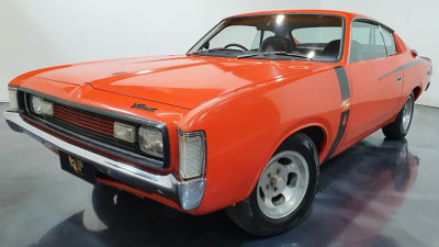 Hey Charger! 1972 Valiant Charger E49 'Big Tank' for sale: $400,000