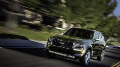 New Kia Telluride SUV revealed