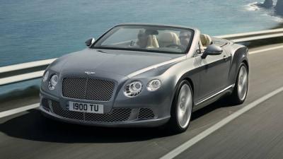 2012 Bentley Continental GTC Revealed Ahead Of Frankfurt Debut