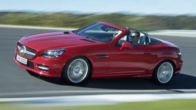 Mercedes-Benz SLK Recalled For Steering Safety