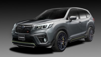 Subaru reveals STI Forester in Japan