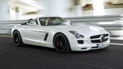 Mercedes-Benz SLS AMG Roadster Australian Pricing Revealed