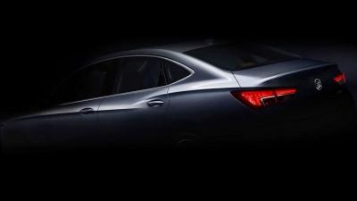 Buick Teases New Verano Small Sedan For Shanghai Auto Show