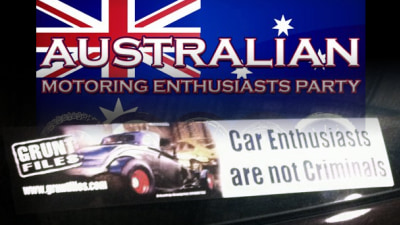 Australian Motoring Enthusiast Party To Run In 2013 Federal Election