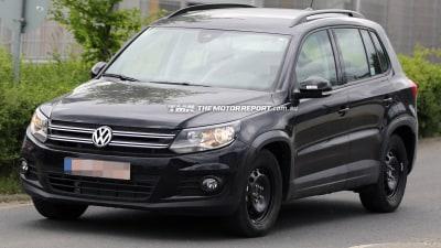 Volkswagen T-Roc Prototype Spied